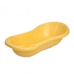 Kadica za bebu ravna 100 cm žuta
