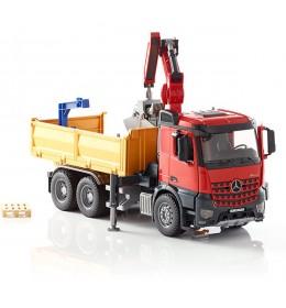 Kamion Mercedes sa kranom MB Bruder 036515