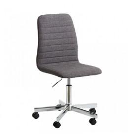 Kancelarijska stolica siva/ hrom