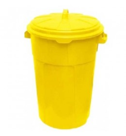 Kanta za otpatke sa poklopcem Duo 120 L žuta