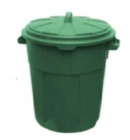 Kanta za otpatke sa poklopcem Duo 90 L zelena