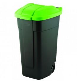 Kanta za smeće 110 l Curver crna zelena