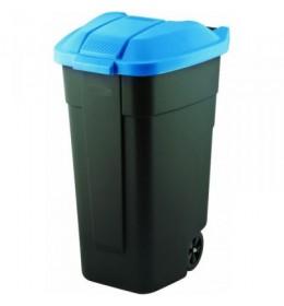 Kanta za smeće 110 l Curver plavo crna