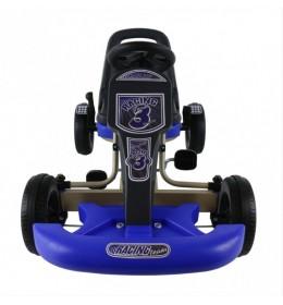 Karting na pedale Racing Team 3 Blue