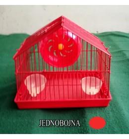 Kavez za hrčka H-1 crvena