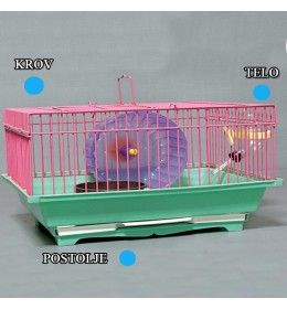 Kavez za hrčka H-3 plava