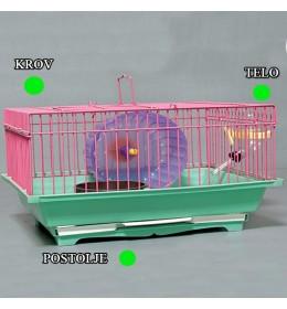 Kavez za hrčka H-3 zelena