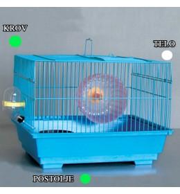 Kavez za hrčka H-4 bela i zelena