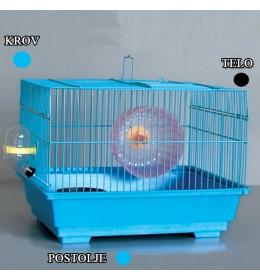 Kavez za hrčka H-4 crna i plava