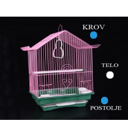 Kavez za ptice 102 bela i plava
