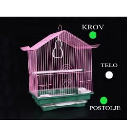 Kavez za ptice 102 bela i zelena