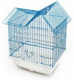 Kavez za ptice plavo beli