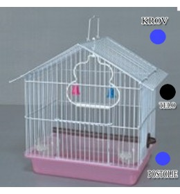 Kavez za ptice W033 plava i crna