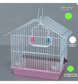 Kavez za ptice W033 zelena i bela