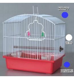 Kavez za ptice W044 plava i bela