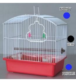 Kavez za ptice W044 plava i crna