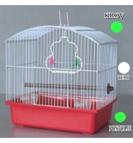 Kavez za ptice W044 zelena i bela