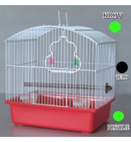 Kavez za ptice W044 zelena i crna