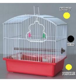 Kavez za ptice W044 žuta i crna