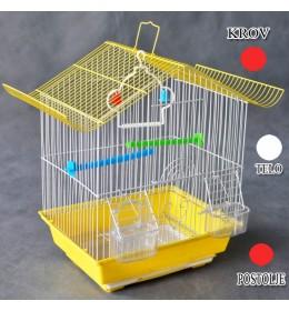 Kavez za ptice W102 crvena