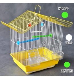 Kavez za ptice W102 zelena