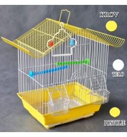 Kavez za ptice W102 žuta