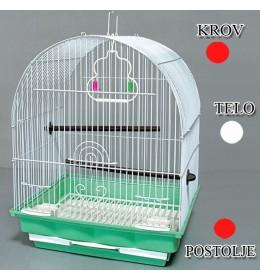 Kavez za ptice W400 crvena