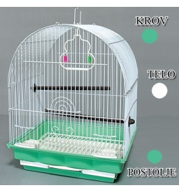 Kavez za ptice W400 zelena