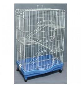Kavez za zeca 851 bela i plava