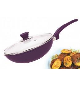 Keramički wok tiganje sa poklopcem COLOSSUS LINE CL-155