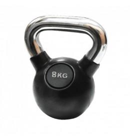 Kettlebell - girja 8 kg gumiran