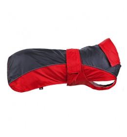 Kišni mantil za psa Lorient sivo-crveni L