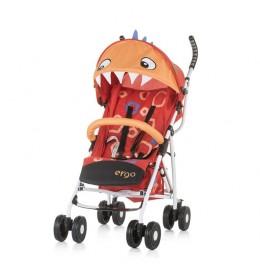 Kišobran kolica za bebe Ergo 6m+ Chipolino Red Dino