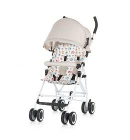 Kišobran kolica za bebe Kikki 6m+ Chipolino Caramel