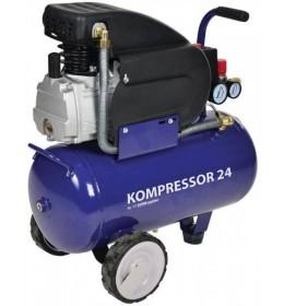 Klipni kompresor Elektro Maschinen 24 L Blue