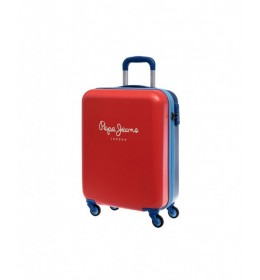 KOFER BICOLOR BOY RED TROLLEY Pepe Jeans