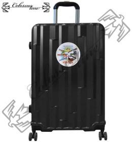 Kofer sa točkićima i teleskopskom ručkom ABS 23x38x56 GL-991 Crni