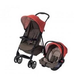 Dečija kolica + auto sedište Graco duo sistem Literider Woodland walk