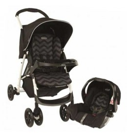 Dečija kolica + auto sedište Graco duo sistem Mirage TS oxford