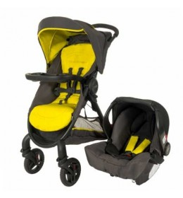 Dečija kolica + auto sedište Graco duo sistem Fast action fold sport lime