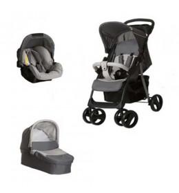 Dečija kolica trio sistem Hauck Shopper stone grey