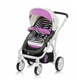 Kombinovana kolica za bebe Chipolino Etro Roze