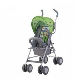 Dečija kolica Trek Green & Grey Car