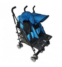 Kišobran kolica za blizance letnja blue B-Tech