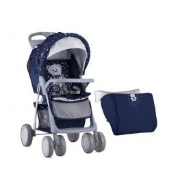 Kolica za bebe foxy-Dark Blue Teddy