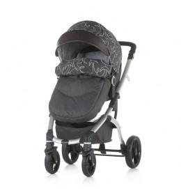 Kolica za bebe Malta 0+ Chipolino Granite Grey