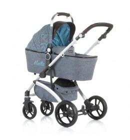 Kolica za bebe Malta 2 u 1 0+ Chipolino Sky Blue