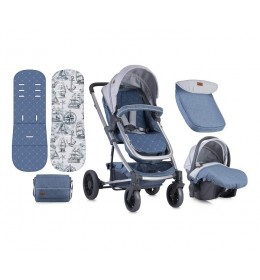 Kolica za bebe S-500 Set Grey Maps