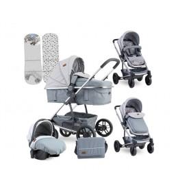 Kolica za bebe S-500 Set Grey Venice