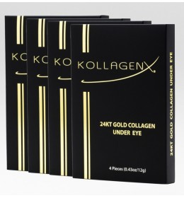KollagenX Maska za predeo oko očiju 24KT Gold 4kom.